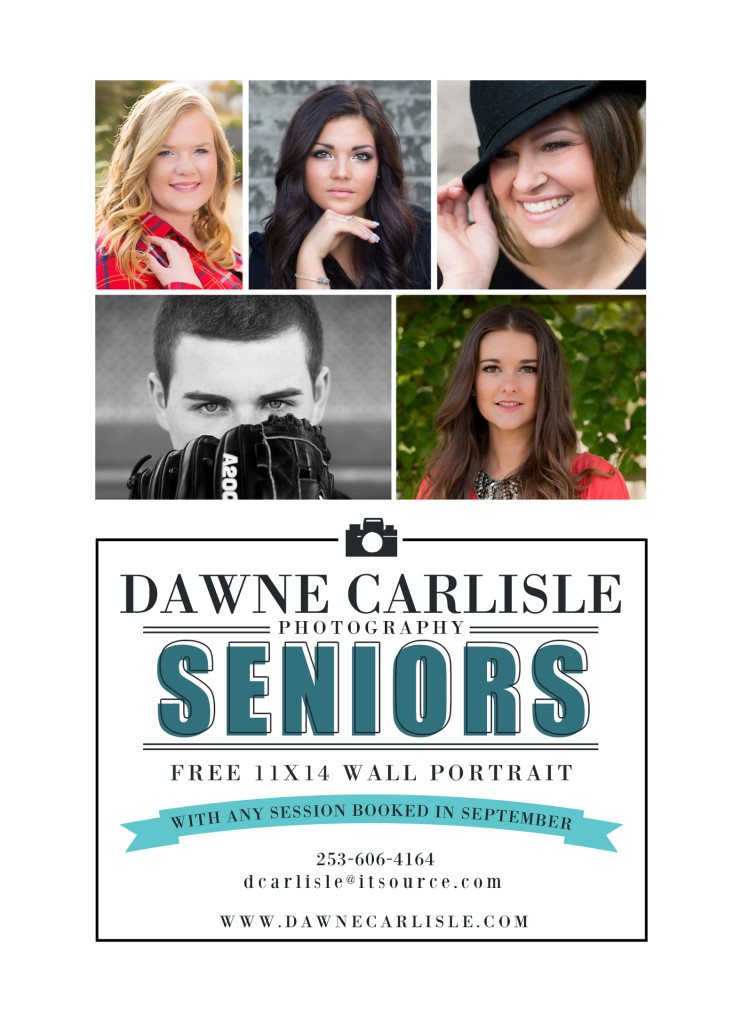 Senior Puyallup Photographer