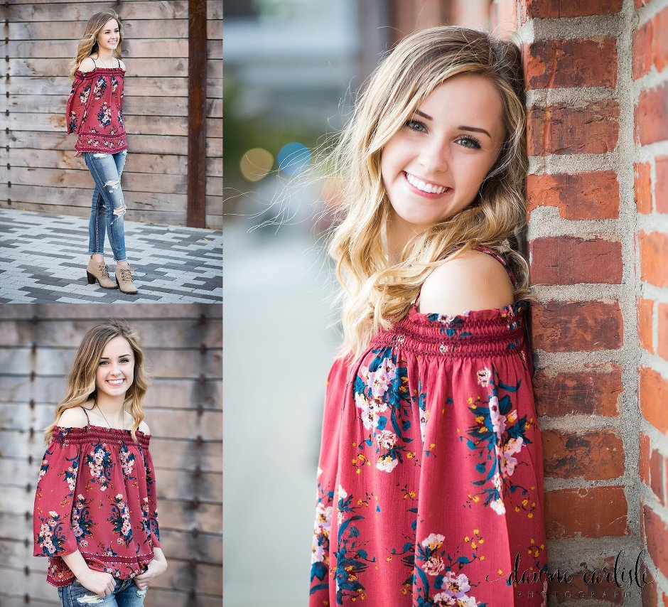 Beautiful Senior Pictures in Downtown Tacoma Washington by Puyallup photographer Dawne Carlisle Photography