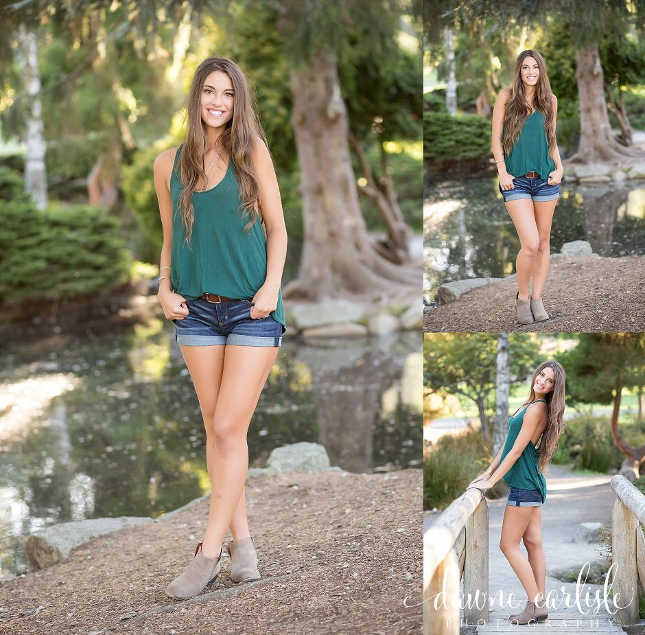 Gorgeous Senior Pictures at Pt Defiance Tacoma Washington - Dawne Carlisle Photography